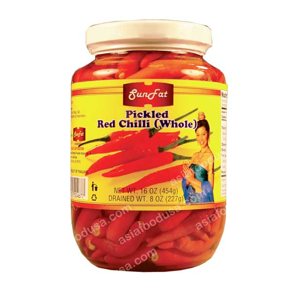SF Pickled Whole Red Chili