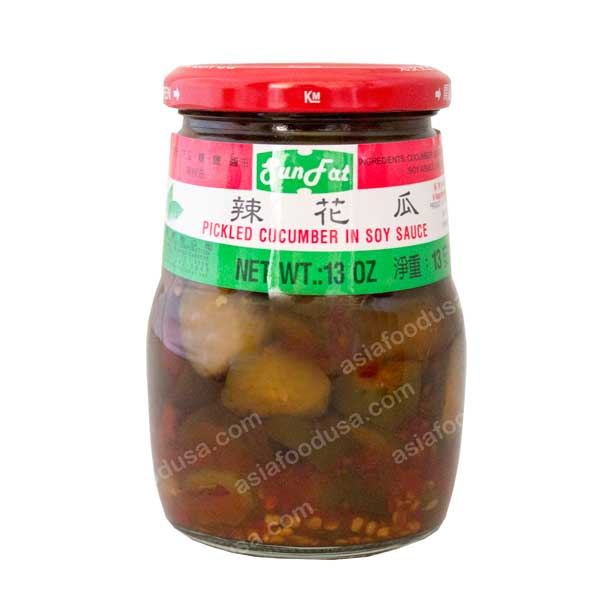 SF Pickled Cucumber in Soy Sauce