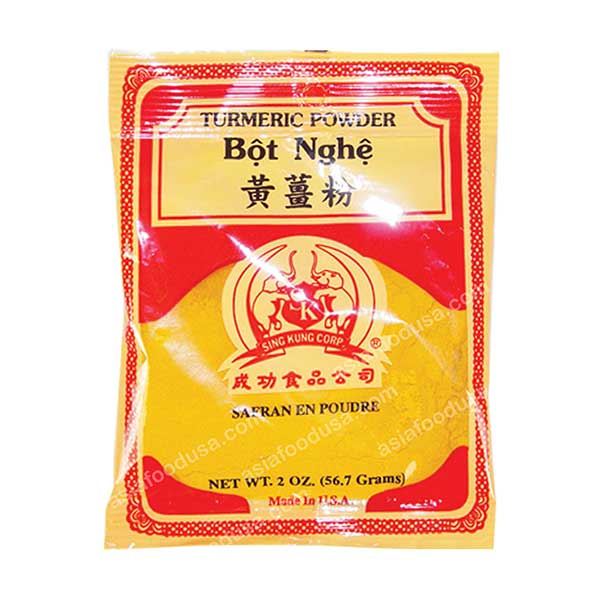 2V Turmeric Powder Bag (Bot Nghe)
