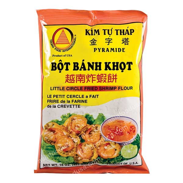 KTT Little Circle Fried Shrimp Flour (Banh Khot)