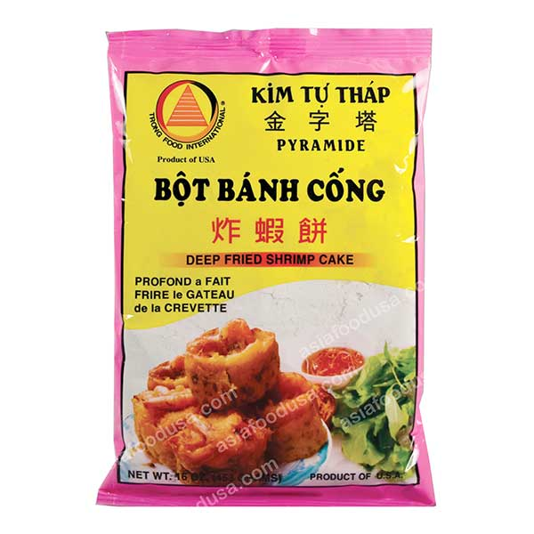 KTT Deep Fried Shrimp Cake (Banh Cong)