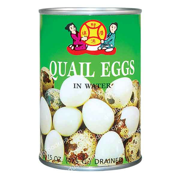 LC Quail Eggs in Water