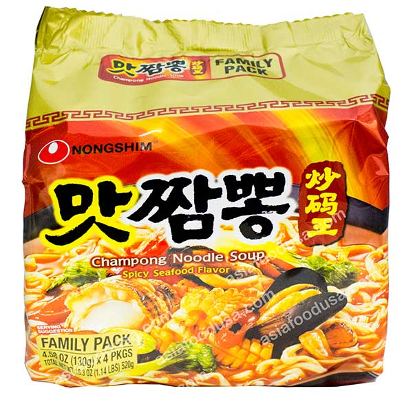 Nongshim Champong Noodle (Family Pack)