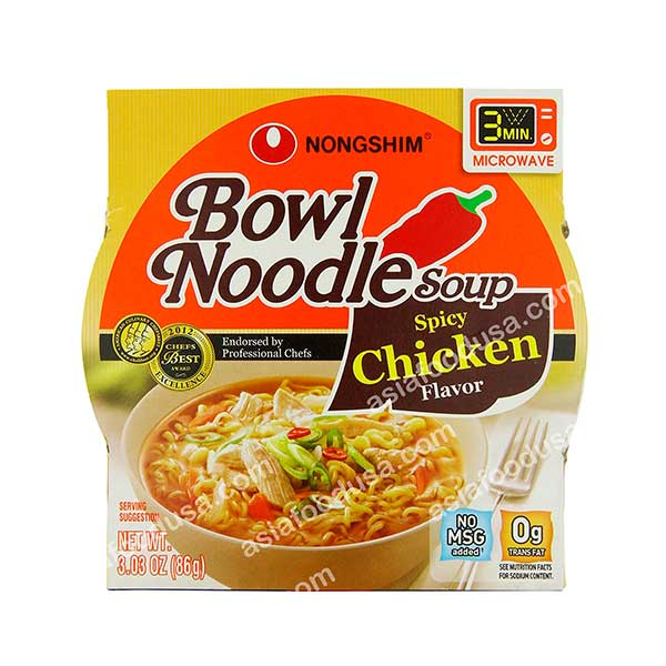 Nongshim Bowl Spicy Chicken