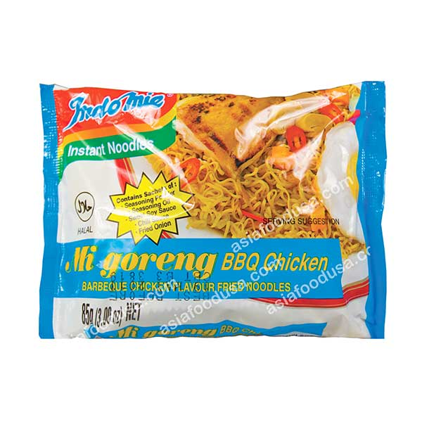 Indomie BBQ Chicken Fried Noodle
