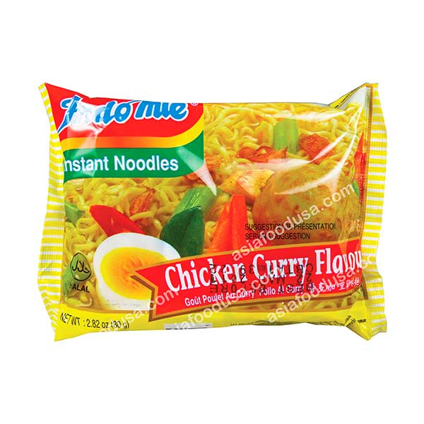 Indomie Chicken Curry Fried Noodle