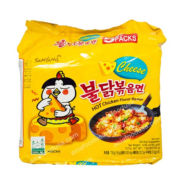 Samyang (Cheese) Hot Chicken (Family Pack)