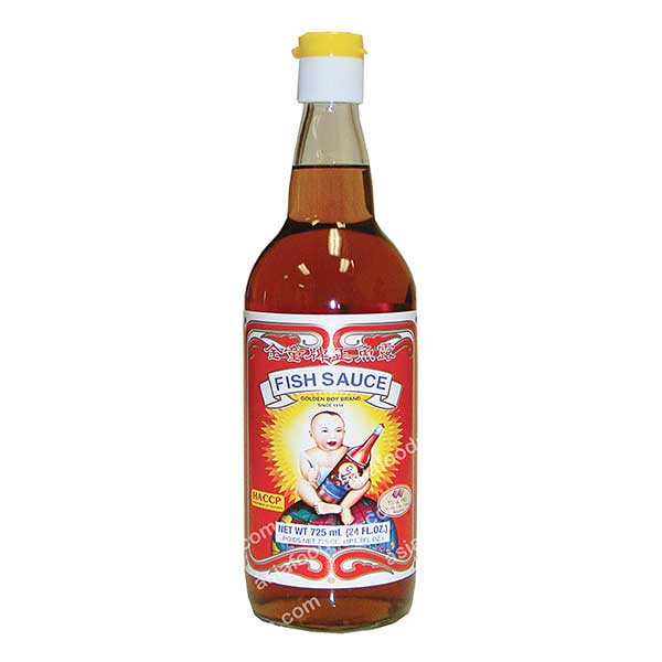 Golden Boy Fish Sauce (Glass)