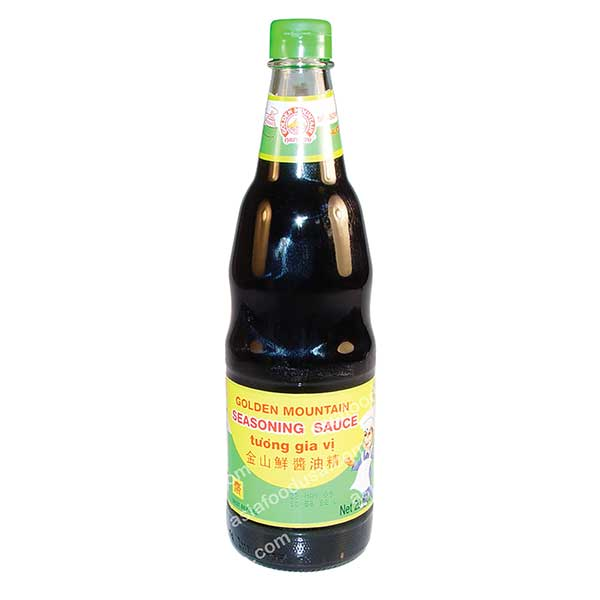 Golden Mountain Soy Sauce (glass)