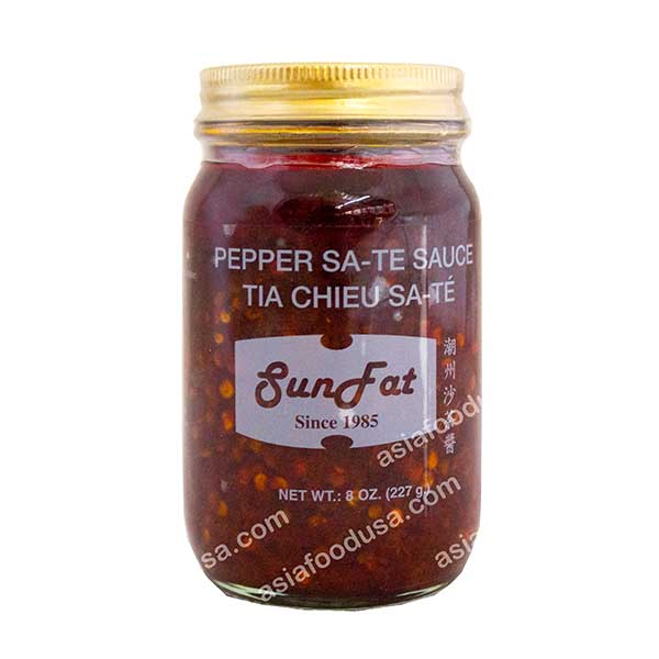 SF Pepper Sate Sauce