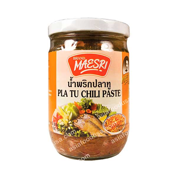 Maesri Pla Tu Chili Paste