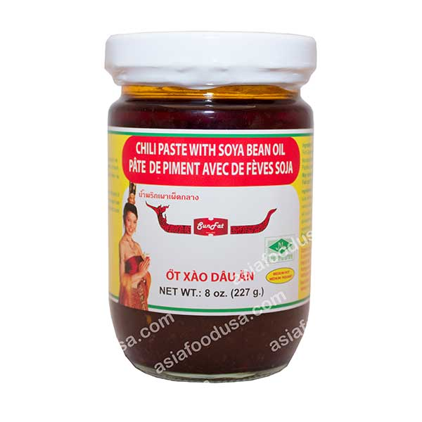 SF Chili Paste in Soybean Oil