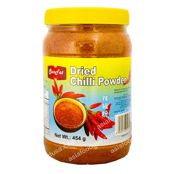 SF Dried Chili Powder (jar)