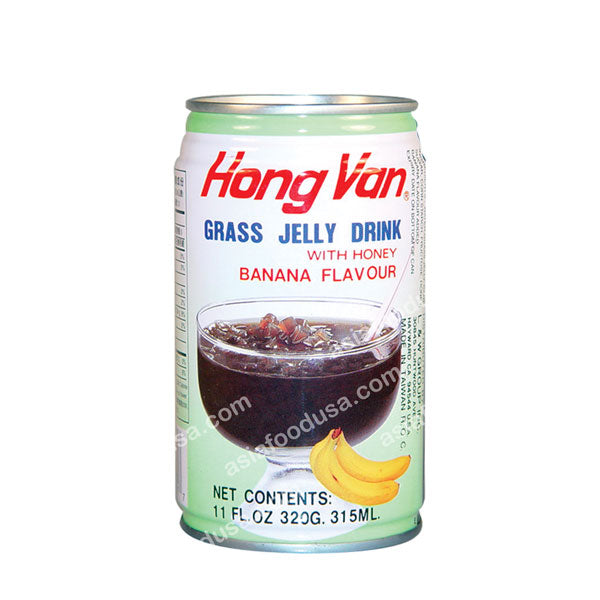 LW Banana Grass Jelly Drink