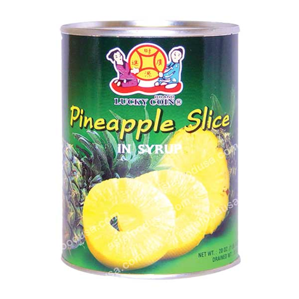 LC Pineapple Slice in Syrup