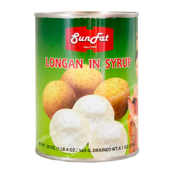 SF Longan in Heavy Syrup
