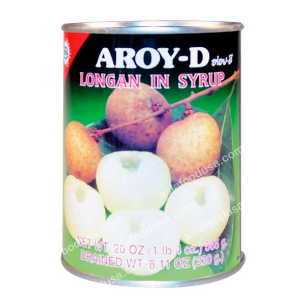 Aroy-D Longan in Syrup
