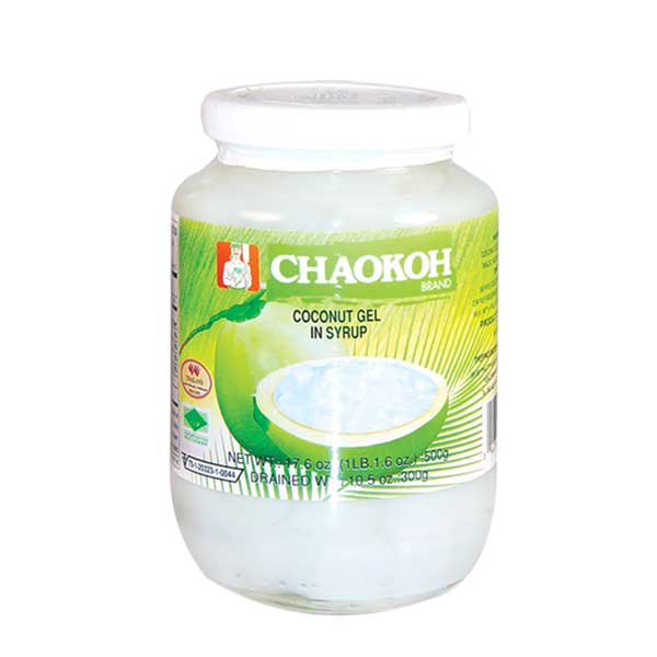 Chaokoh Coconut Gel in Syrup