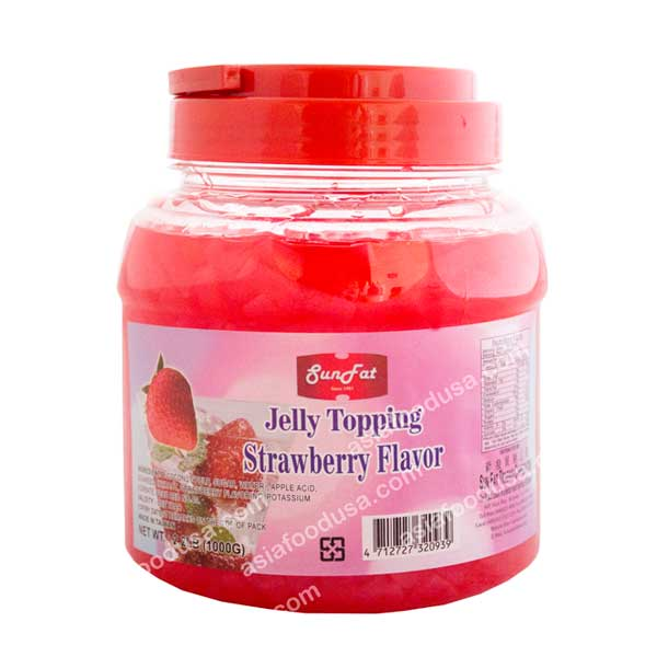 SF Strawberry Jelly Topping