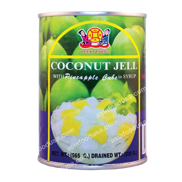 LC Coconut Jell with Pineapple in Syrup