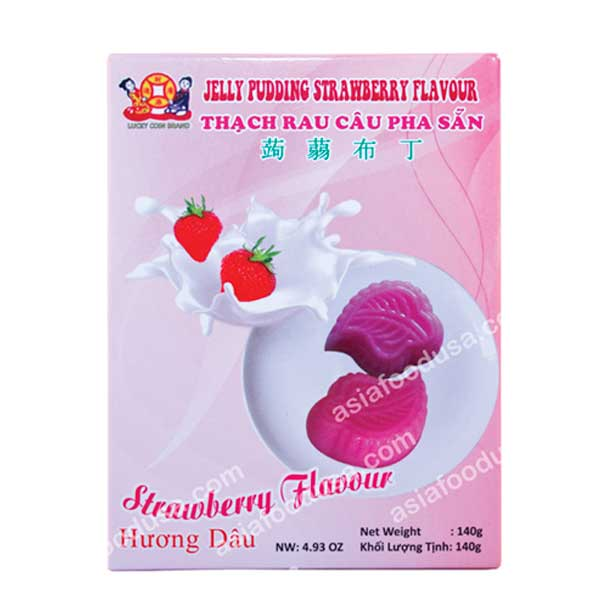 LC Jelly Pudding Powder (strawberry)