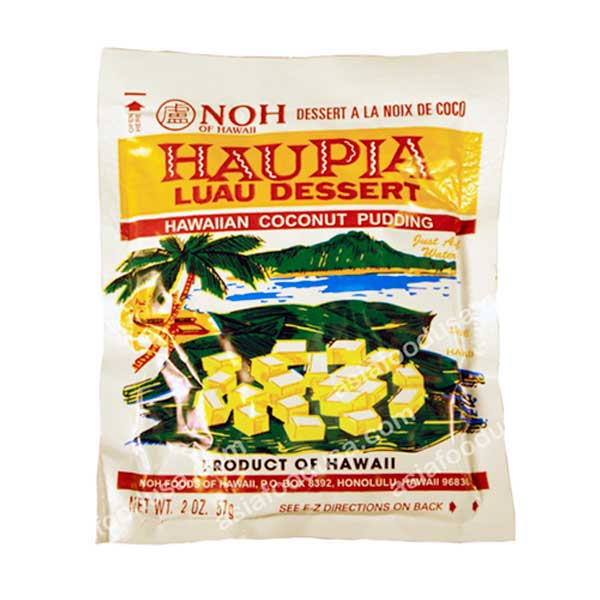 NOH Hawaiian Coconut Pudding (Haupia) Bag