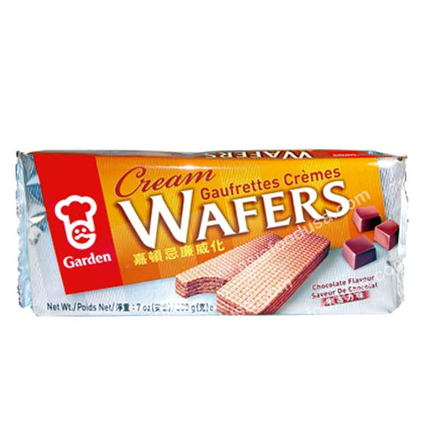 Garden Cream Wafers (Chocolate)