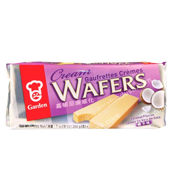 Garden Cream Wafers (Coconut)