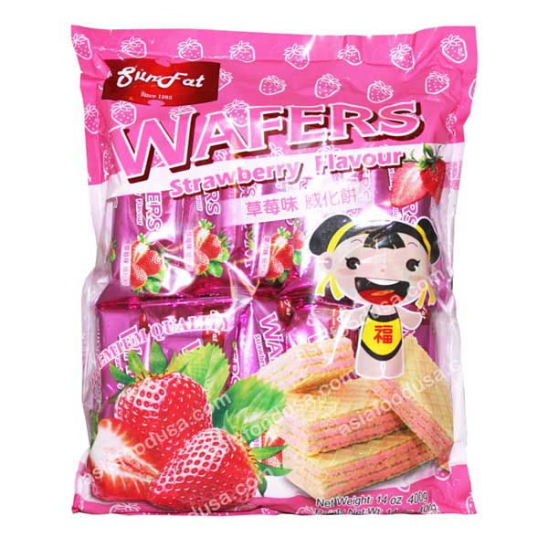 SF Family Pack Wafers (Strawberry)
