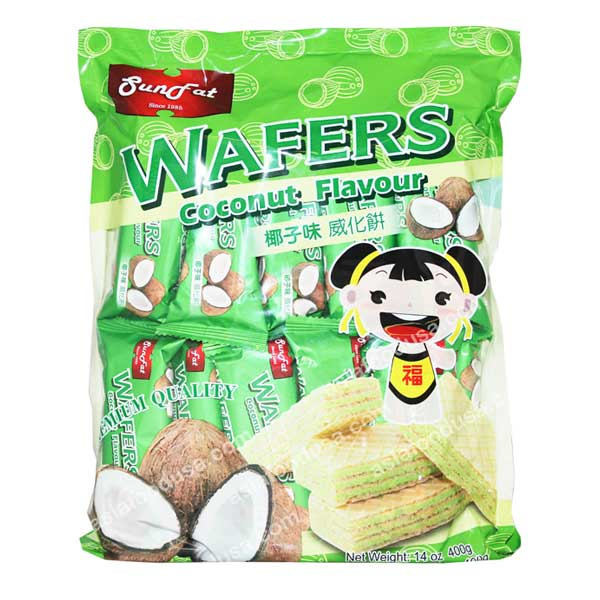 SF Family Pack Wafers (Coconut)