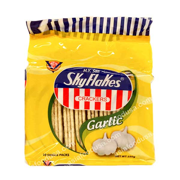 MYS Skyflakes Garlic Crackers