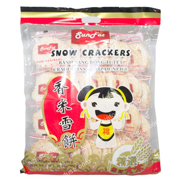 SF Snow Crackers