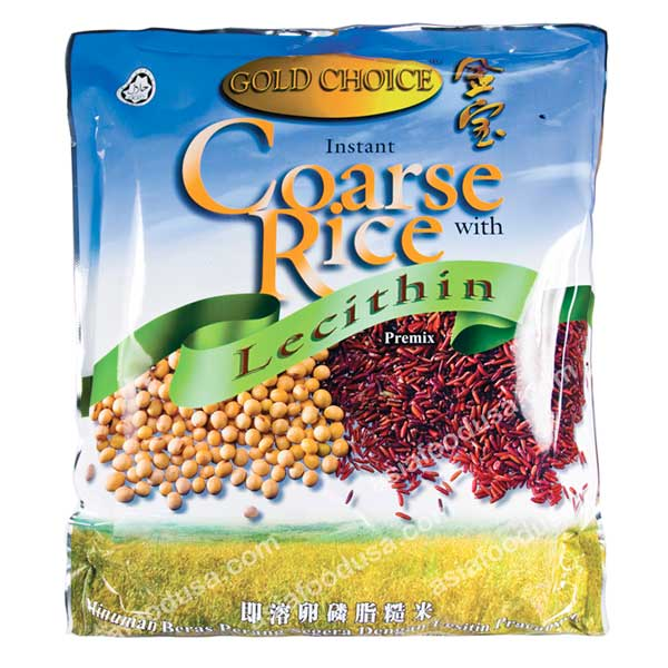 Gold Choice Coarse Rice W. Lecithin
