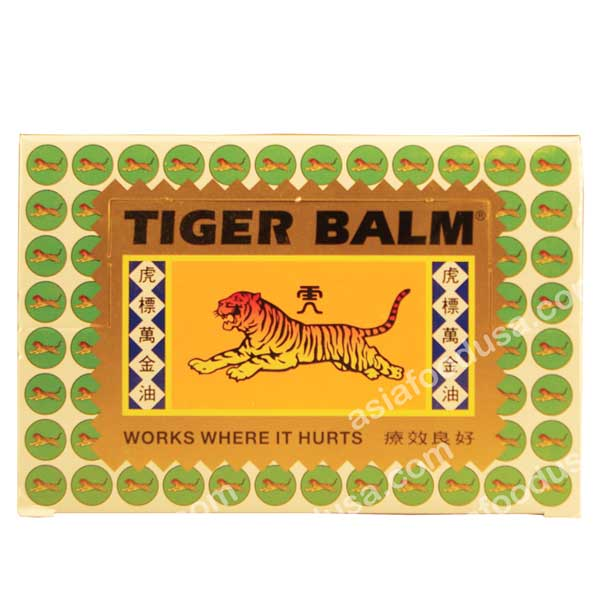 Tiger Balm Regular (White)