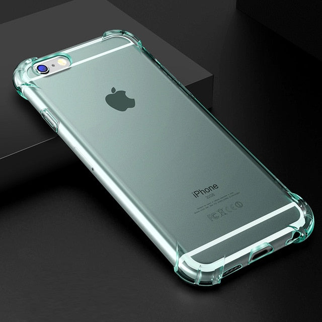 Shockproof Clear Soft Phone Case for iPhone | Phone Bags | PopMuch