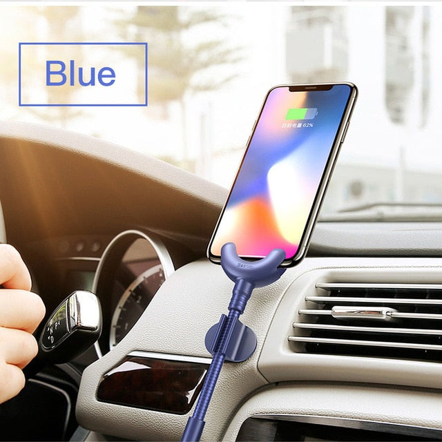 Car Phone Holder for iPhone | GPS Mobile Phone Stand | USB Cable For iPhone | PopMuch