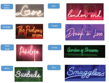 Load image into Gallery viewer, Neon Sign 'The NAME'
