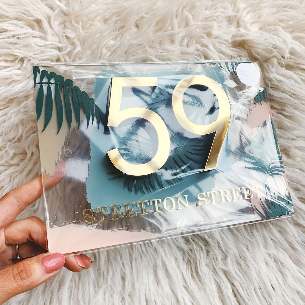 BESPOKE House Number 3D Acrylic Sign