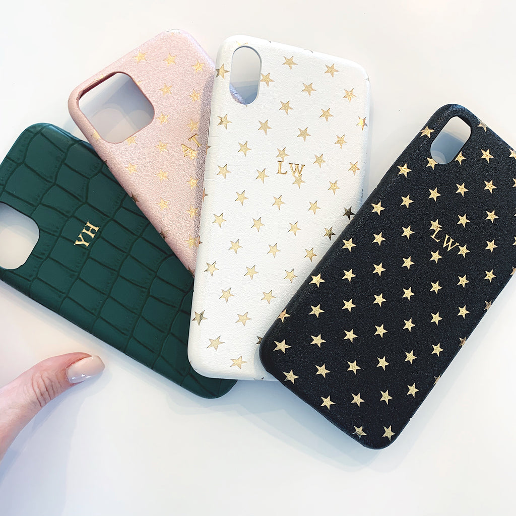 Limited Edition Deep Green Croc iPhone Phone Case