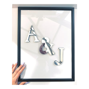 Personalised Mirrored Frame