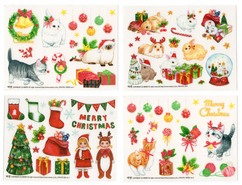 The cutest Christmas stickers EVER?!