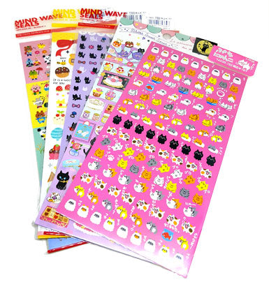 Japanese Sticker Sheets