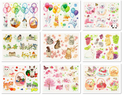Korean DIY Sticker Sheets