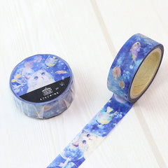 Tokotoko Circus - Dreaming of Fish - Cat Japanese Washi Tape
