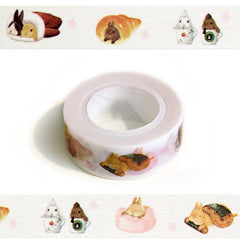 Sweet Treats Bunnies - Rabbit Washi Tape! cute!