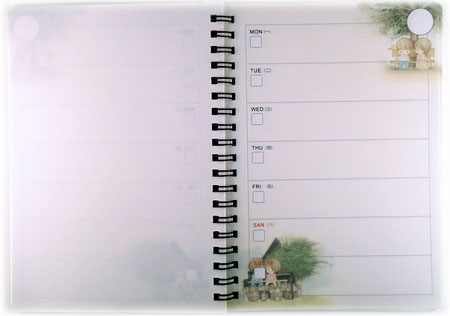 Amy and Tim Weekly Planner / Diary!