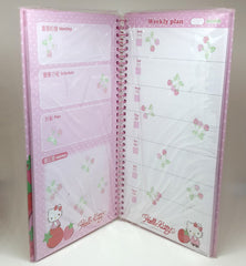 Hello Kitty Strawberry Weekly Planner / Diary!