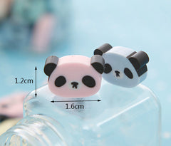 Panda Erasers set of 4!