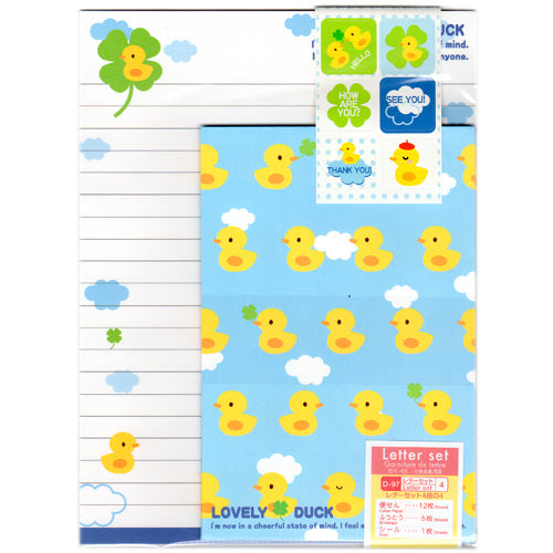 Lovely Duck Letter set