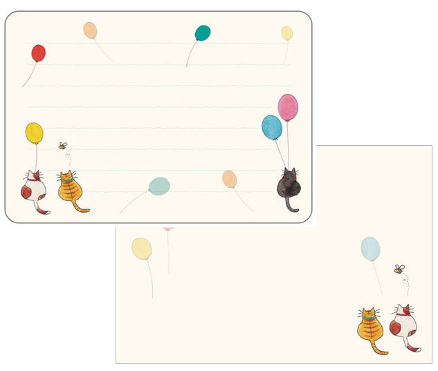 Frontia : Cats & Balloons mini Letter Set!